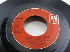 "JANET JACKSON When I Think Of You / Pretty Boy  7"" vinyl Record  AM-2855"