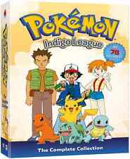 Pokemon Complete Collection TV Series Season 1 Indigo League NEW 9-DISC DVD SET