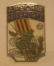 DI Crest hat lapel Pin Airborne Mikeforce