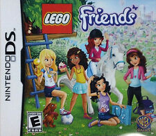 LEGO Friends GAME Nintendo DS DSI XL LITE 3 3DS 2 2DS Free Shipping