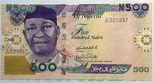 Nigeria 2009 500 Naira V/23 025997 (Shifted)