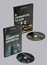 A Damascus Blade from A to Z & Basic Damascus Patterns (2 DVD Set) /Knife Making