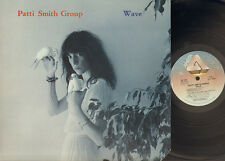 PATTI SMITH WAVE 1979 LP co USA  Innersleeve Patti Smith Group Waves