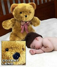 (2) TEDDY CAMs - HIDDEN TEDDY BEAR CAMERA , BABY MONITOR / Nanny Cam Brand New
