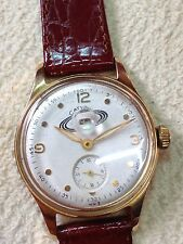 Very Rare Saturn 1960 Ussr Watch Stainless Steel Gold Plated Vintage Original !!
