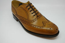 Barker Newport Brogue Shoes in Cedar Calf UK6.5G