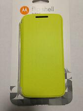 Original Motorola Flip Shell lemon für Moto G NEU+OVP Case Tasche Hülle Schutz