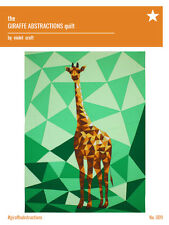 The Giraffe Abstractions Quilt by Violet Craft - DIY quilt pattern