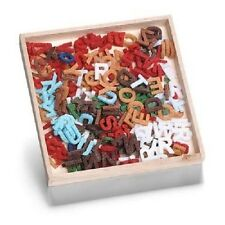 Box of FELT SHAPES ORNAMENTS Alphabet Letters Mixed 8001 299