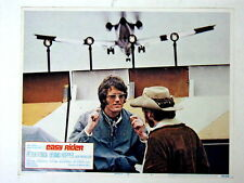 EASY RIDER Orig BIKER MOTORCYCLE AIRPLANE Lobby Card PETER FONDA DENNIS HOPPER