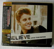 JUSTIN BIEBER - Believe JAPAN ONLY CD + DVD NEU UICL-9106 SEALED