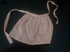 """For American Girl 18"""" Doll KIRSTEN's Original Meet Outfit Striped Apron ONLY"""