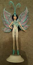 One of a kind repainted cher doll with a bob Mackie outfit