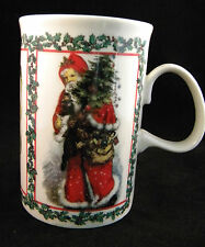 Dunoon Stoneware Merry Christmas Mug Scotland Adapted From Victorian Prints