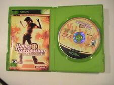 Dance Dance Revolution Ultramix Xbox Original with Manuel but No Mat
