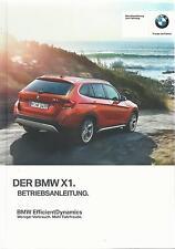 BMW X1 E84 Betriebsanleitung 2015 Bedienungsanleitung Handbuch Bordbuch BA