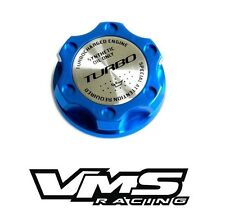 VMS RACING BLUE TURBO CNC ENGINE OIL FILLER CAP FOR 12-16 FORD FOCUS ST