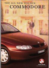 1998 HOLDEN VT COMMODORE 34p Prestige Brochure S SS BERLINA ACCLAIM EXECUTIVE