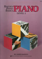 BASTIEN PIANO BASICS LEVEL 1 Sheet Music Book Part Learn How To Play WP201