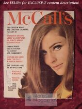 MCCALLs March 1967 MICHAEL CAINE WILLIAM MAIER SHARON PERCY CLARE BOOTHE LUCE