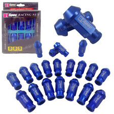 D1-SPEC BLUE JDM WHEEL LUG NUT FOR HONDA ACURA INTEGRA M12X1.5MM 20PCS L:50MM