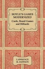 Hoyle's Games Modernized - Cards - Board Games and Billiards-ExLibrary