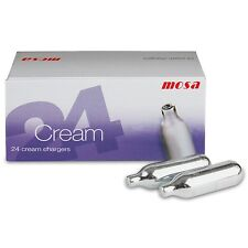 Mosa whipped cream chargers ( 2 x boxes of 24 )