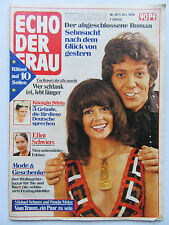Echo der Frau 50/1976, Wencke Myhre, Ellen Schwiers, Peter Alexander, Schöner In