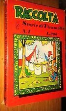 RACCOLTA-STORIE DI TIRAMOLLA #  1-GIUGNO 1963-ALPE