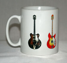 Guitar Mug. The Beatles guitar illustrations.