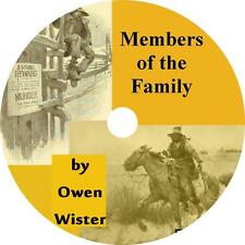 Members of the Family by Owen Wister Western Short Stories Audiobook on 1 MP3 CD