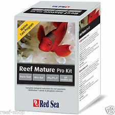 Red Sea MCP Reef Mature Pro Kit Bacto Start Nitro bac No3:Po4-X KH Coralline Gro