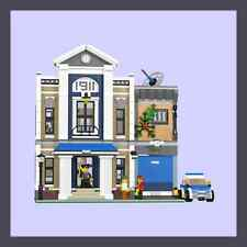 LEGO Custom Modular Police Station - INSTRUCTIONS ONLY!!