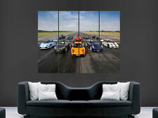 SUPERCARS LUXURY SPORT CARS FERRARI  ART WALL POSTER  PICTURE PRINT LARGE HUGE