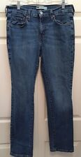 Levi's 505 Women's Straight Fit, Medium Wash Jeans, Size 8M, Inseam 30