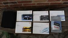 2006 Audi TT Coupe Owners Manual Set w/ Case