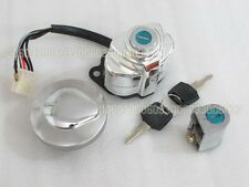 Ignition switch Fuel Gas Cap cover with Key VLX VT400 750 STEED 400 600 33#G