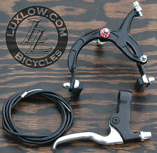 Black Cruiser Bike Rear Brake Lever Cable Caliper OS BMX Vintage Schwinn Bicycle