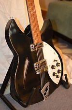 '98 Rickenbacker 330 Jetglo 12-string hollowbody electric guitar & hardbody case