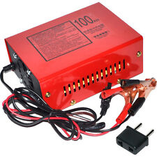 High Quality 12V/24V 100AH Electric Car Dry&Wet Battery Charger 220V Input