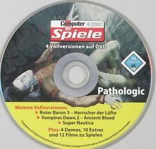 Pathologic PC in Deutsch & Roter Baron 3 & Vampires Dawn 2 & Super Nautica