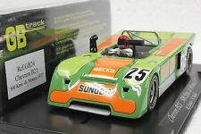 FLY GB24 CHEVRON B21 500KM DE MONZA 1977 #25 NEW 1/32 SLOT CAR IN DISPLAY CASE