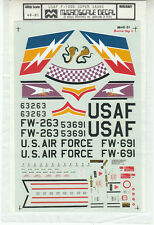 1/48 MicroScale Decals Super Sabre F-100D 49th TFW 450th TFS 48-81