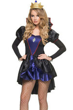 Royal Evil Queen Costume Halloween Cool Holy Sexy Cosplay 2016 Women Fancy Dress