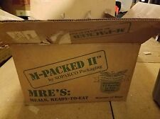 M-Packed II Mre's Ready to Eat Meals Pack of 11