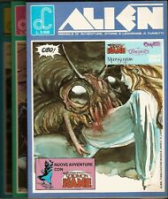 Solomon Kane Moonshadow Timespirits ecc ALIEN nn.1/2/3 anno II Labor Comics 1986