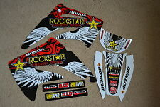 TEAM  ROCKSTAR  GRAPHICS  HONDA CR85R   CR85