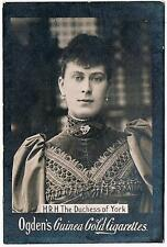 Ogden's Guinea Gold Cigarettes H.R.H. The Dutches Of York Tobacco Card