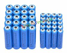 20x AA 3000mAh + 20x AAA 1800mAh 1.2V NI-MH Rechargeable Battery 2A 3A Blue Cell