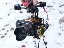 DYS 3 Axis Brushless Gimbal Motor + AlexMos + IMU + YAW for Sony NEX ILDC Camera